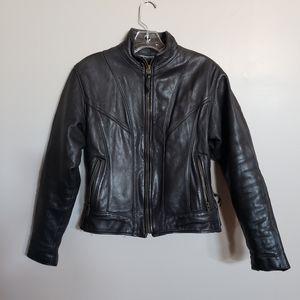 Walter Dyer Is Leather 4/6 VTG leather bik jacket